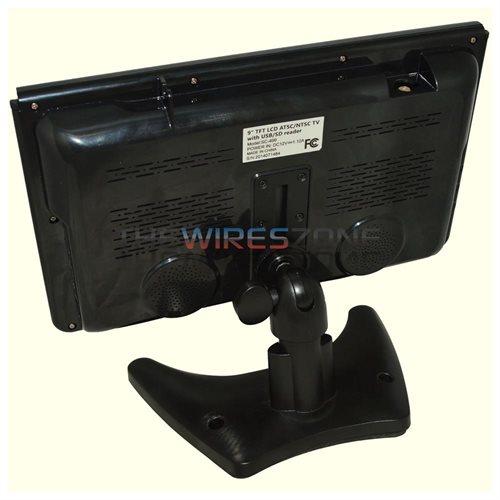 "Supersonic SC-499D 9"" LCD TV - 16:9 - ATSC - 640 x 234 1"