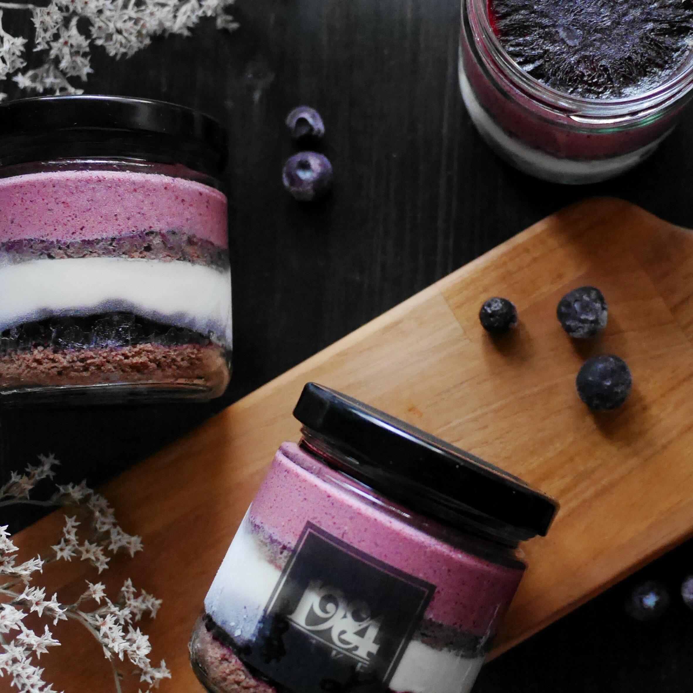 藍莓風情 罐蛋糕 慕斯蛋糕 ~  好康折扣