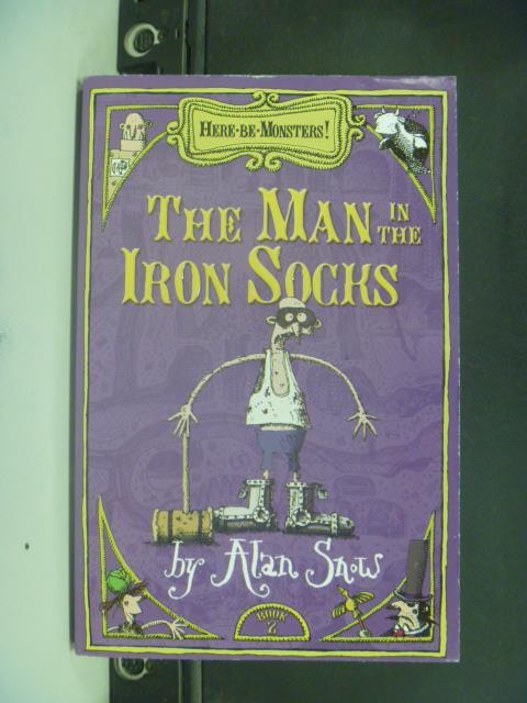 ~書寶 書T1/原文小說_GNT~ Man in the Iron Socks Part