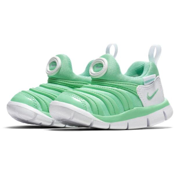 NikeDynamoFree(TD)童鞋小童慢跑休閒毛毛蟲綠【運動世界】343938-309