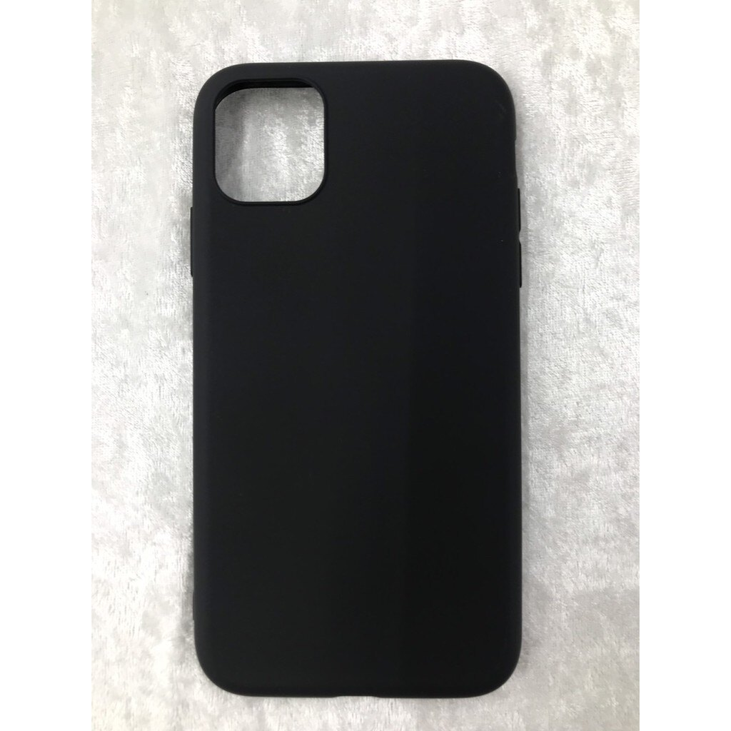 APPLE iphone11/11pro/11pro max素面黑色軟殼/背殼/素色殼