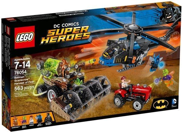 ~LEGO 樂高積木~SuperHeros系列~蝙蝠俠 稻草人恐懼氣體 LT~76054