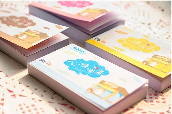【省錢博士】韓國文具卡通心情便條本 / 可愛迷你心情便簽本彩頁 / 隨機出貨 4