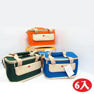 【晨光】美國amaro 合家歡多功能保溫保冷袋-(橘 綠兩色) -6入(91099)【現貨】