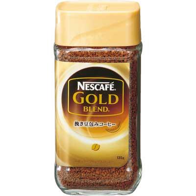 日本雀巢金牌咖啡 (135g) 即溶咖啡粉 黑咖啡 日本進口