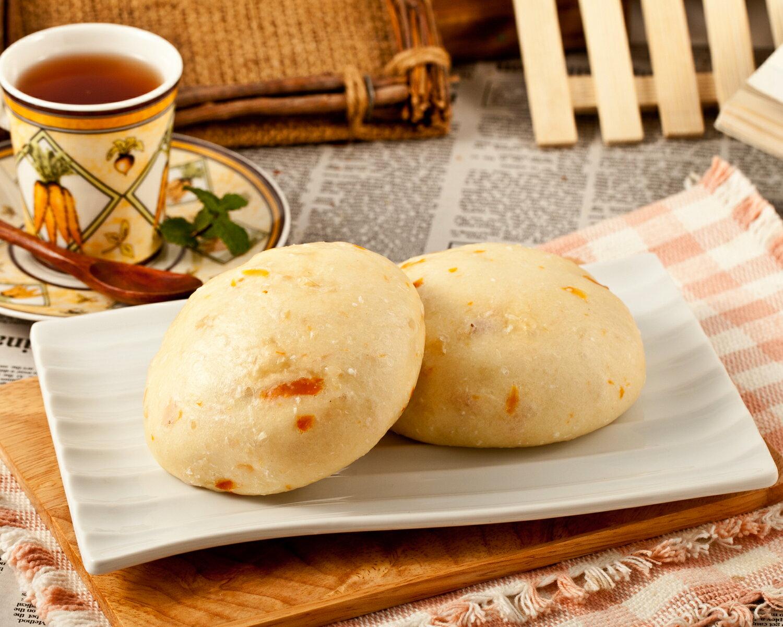南瓜乳酪饅頭 1