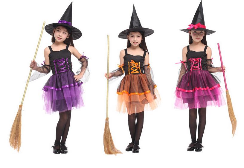 東區派對- 萬聖節服裝,萬聖節服飾,變裝派對,巫婆裝/魔女服裝/網紗巫婆裝