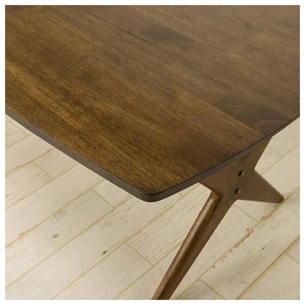 ◎橡膠木質餐桌椅四件組 RELAX 160 MBR / TBL NITORI宜得利家居 3