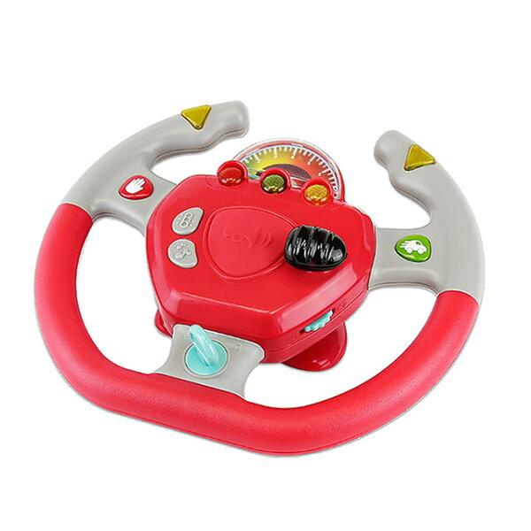 《美國B.toys感統玩具》遛遛公路方向盤