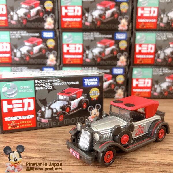 【真愛日本】18080200017TOMY特仕車-店鋪限定米奇古董車tomica米奇米老鼠古董車特仕車限定