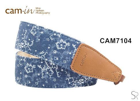 Canon Mall:【Cam.in】潮流相機背帶牛仔系列背帶型號:CAM7104小碎花牛仔系列