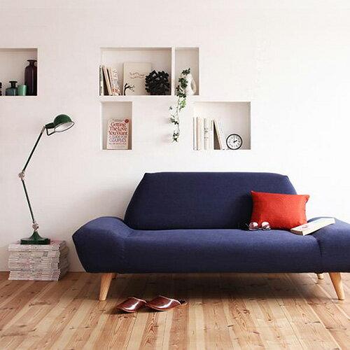 JP Kagu 日系2人座 / 雙人座可拆洗摩登造型布質矮沙發(三色) 0