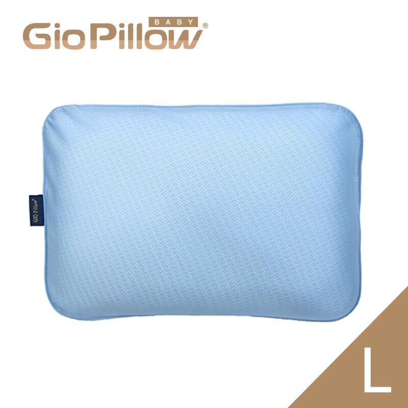 韓國GIO Pillow 超透氣護頭型嬰兒枕頭【單枕套組L號】新生兒~2歲以上適用 防扁頭 防蟎★衛立兒生活館★