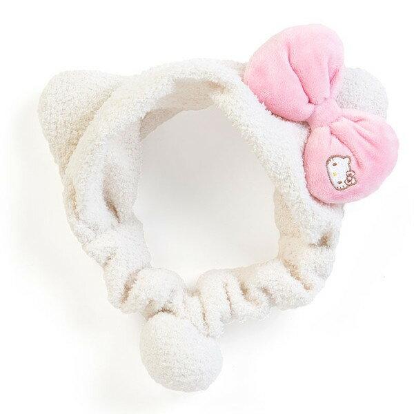 X射線【C700075】Hello Kitty 髮帶-草莓,浴帽/洗髮梳/敷臉/護髮浴帽/包頭巾/浴袍/髮帶/美容巾