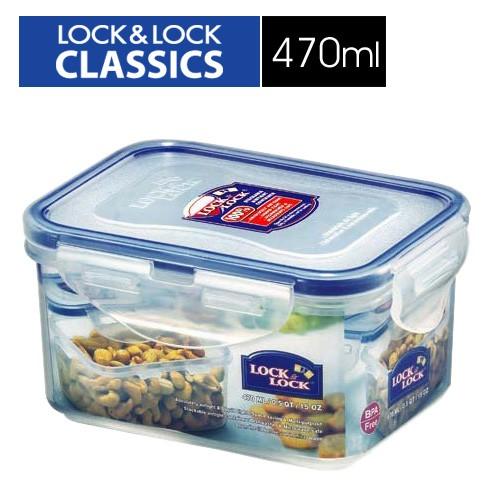 🌟現貨🌟【樂扣樂扣】CLASSICS系列保鮮盒/長方形470ML(HPL807) 樂扣樂扣保鮮盒/PP保鮮盒系列470ML