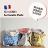 《法國 La Cocotte Paris》巴黎小散步雙面托特包/購物袋 Blue Minipoussin / Ochre Lysette 2