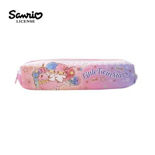 【日本正版】雙子星長型防震筆袋鉛筆盒KIKILALA三麗鷗Sanrio-465056