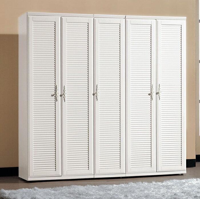 ~尚品傢俱~CM~608~4 珊朵拉1.3尺百葉衣櫥^(圖中^)