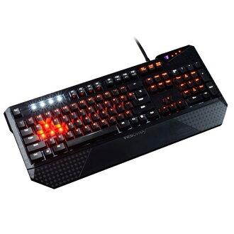 *╯新風尚潮流╭*TESORO Durandal Ultimate 杜蘭朵劍終極版 LED背光 電競 機械式 鍵盤 混軸 G1NL-RBK