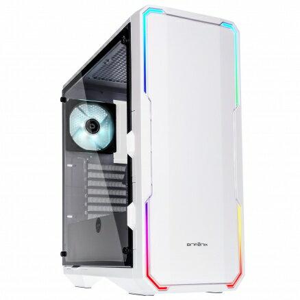 BitFenix火鳥EnsoTG(W)炫光戰神E-ATX電腦機殼(白-玻璃透側版)電腦機殼PC機殼電競機殼電腦機箱【迪特軍】