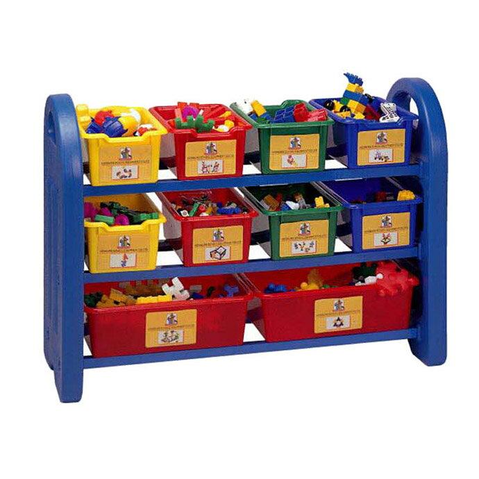 ~華森葳兒童教玩具~建構積木系列~玩具收藏櫃 E4~8515B
