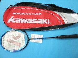 Kawasaki川崎羽毛球拍 CF-700羽球拍(附大背袋)MIT製/一支入{定2480}