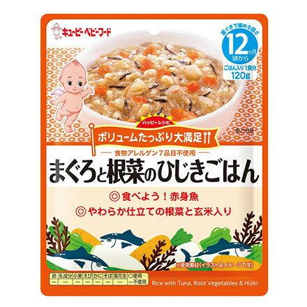 日本KEWPIEキユーピー丘比玄米蔬菜鮪魚12M+副食品即食包離乳食隨行包