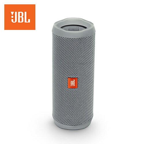 JBLFlip4攜帶型防水藍牙喇叭灰色【三井3C】
