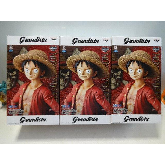 【預購】日本進口 日版 金證 魯夫 路飛 海賊王 航海王 Grandista 魯夫 27cm 海賊王 模型【星野日本玩具】