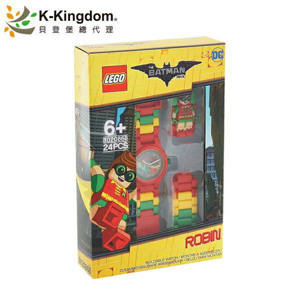 【LEGO 樂高手錶】蝙蝠俠電影系列 羅賓 8020868