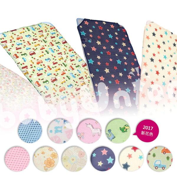 GIO Pillow - 智慧二合一有機棉超透氣嬰兒床墊 L (120x90cm)