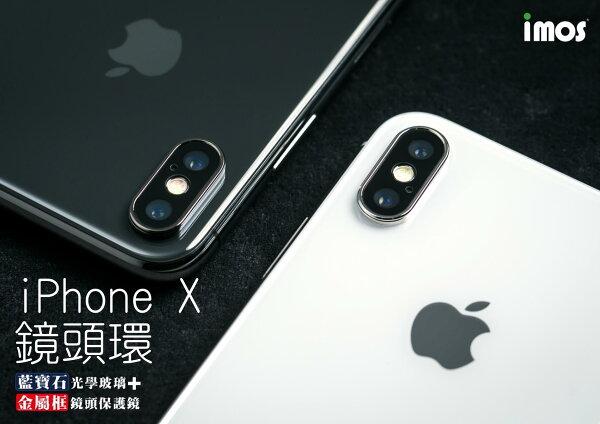 mosiPhoneX專用藍寶石玻璃高硬度鏡頭環保護貼(雙色)