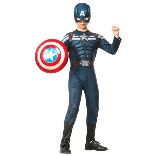 Captain America 2 Winter Soldier Stealth Costume for Kids 0