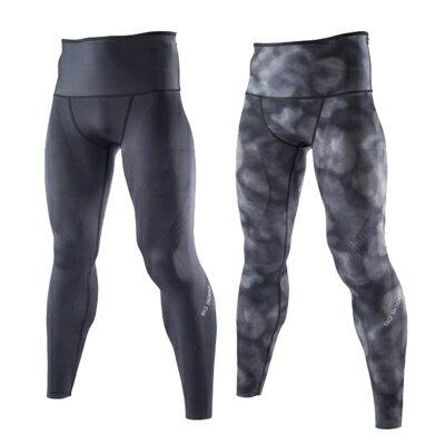 [陽光樂活] MIZUNO 美津濃 BG9000 全新功能兩面穿 (男) 壓縮緊身褲 K2MJ5B0298 黑x灰