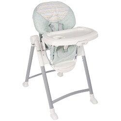 【麗嬰房】Graco 可調式高低餐椅 Contempo 條紋綠