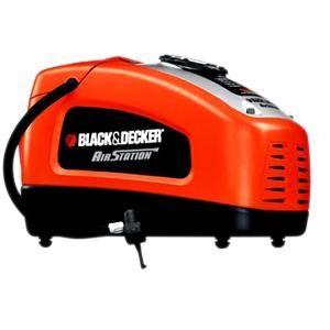 【BLACK&DECKER】美國百工 12V/110V 充氣機/打氣機 /胎壓ASI300