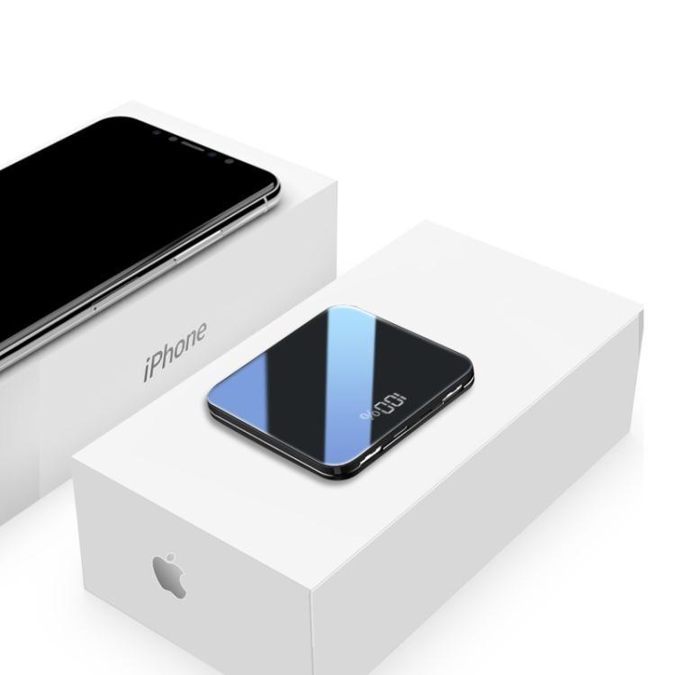 迷你充電寶快充閃充便攜超薄大容量移動電源vivo華為oppo小米手機通用