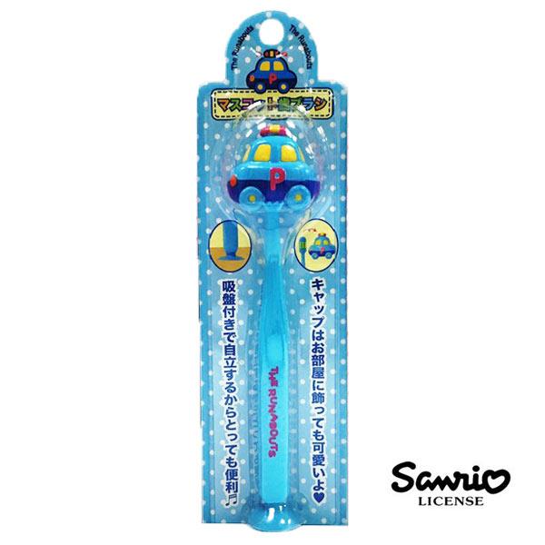 【日本進口正版】汽車宇宙 The Runabouts 吸盤 直立式 造型牙刷 牙刷 三麗鷗 Sanrio - 151990