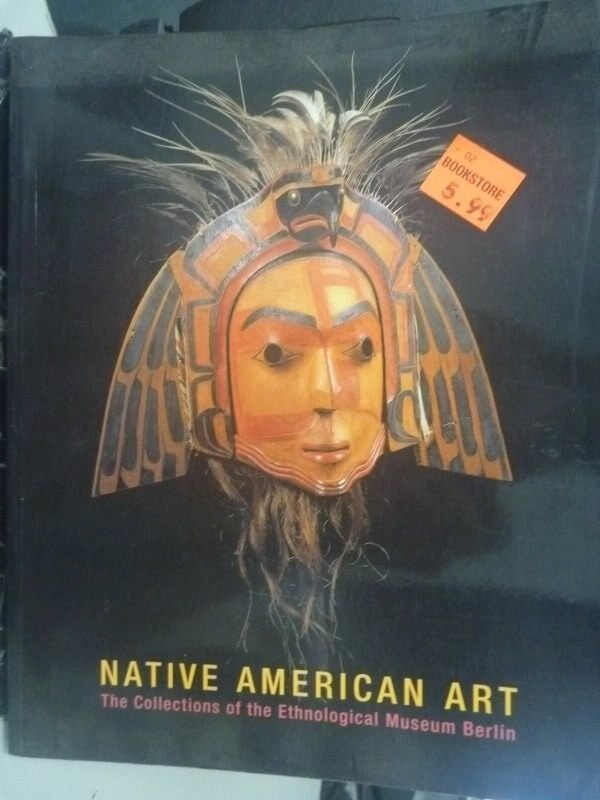 【書寶二手書T7/藝術_YAQ】Native American Art_Peter Bolz