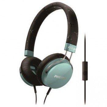 【迪特軍3C】PHILIPS 飛利浦 CitiScape SHL5305 TL 密閉式耳機 耳機麥克風 藍綠色