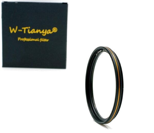 我愛買:我愛買#TianYa高穿透率18層多層鍍膜MC-UV濾鏡62mm濾鏡(金邊,薄框保護鏡)62mm保護鏡MC-UV保護鏡MRC-UV濾鏡Tian天涯Ya