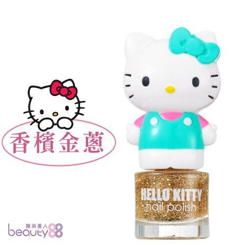 【iBV.18】Hello Kitty 繽紛萌女孩指甲油-香檳金