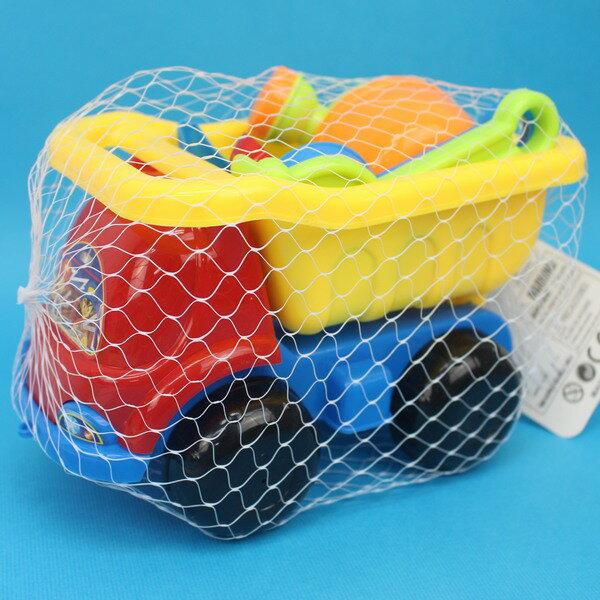 海灘工具桶 6件式 砂石車沙灘工具桶 913-201/一桶入{定99} 小孩堆砂工具 玩沙模具~創NO.913-201
