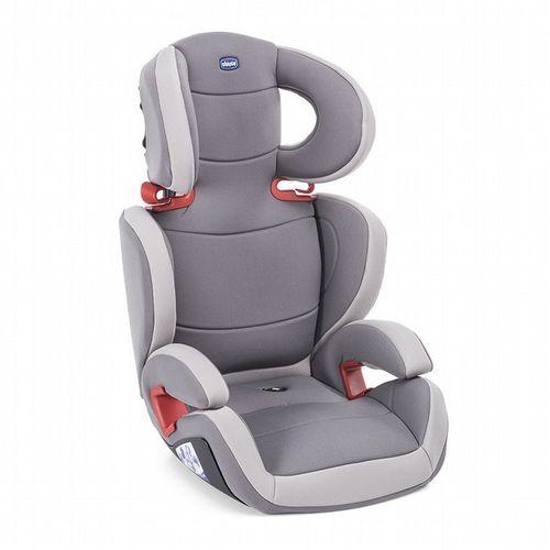 Chicco Key 2-3安全汽座/汽車安全座椅-騎士灰 贈豪華車用腳踢墊★衛立兒生活館★