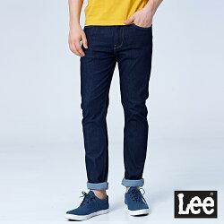 Lee 706低腰合身窄管牛仔褲/RG-深藍色-男款