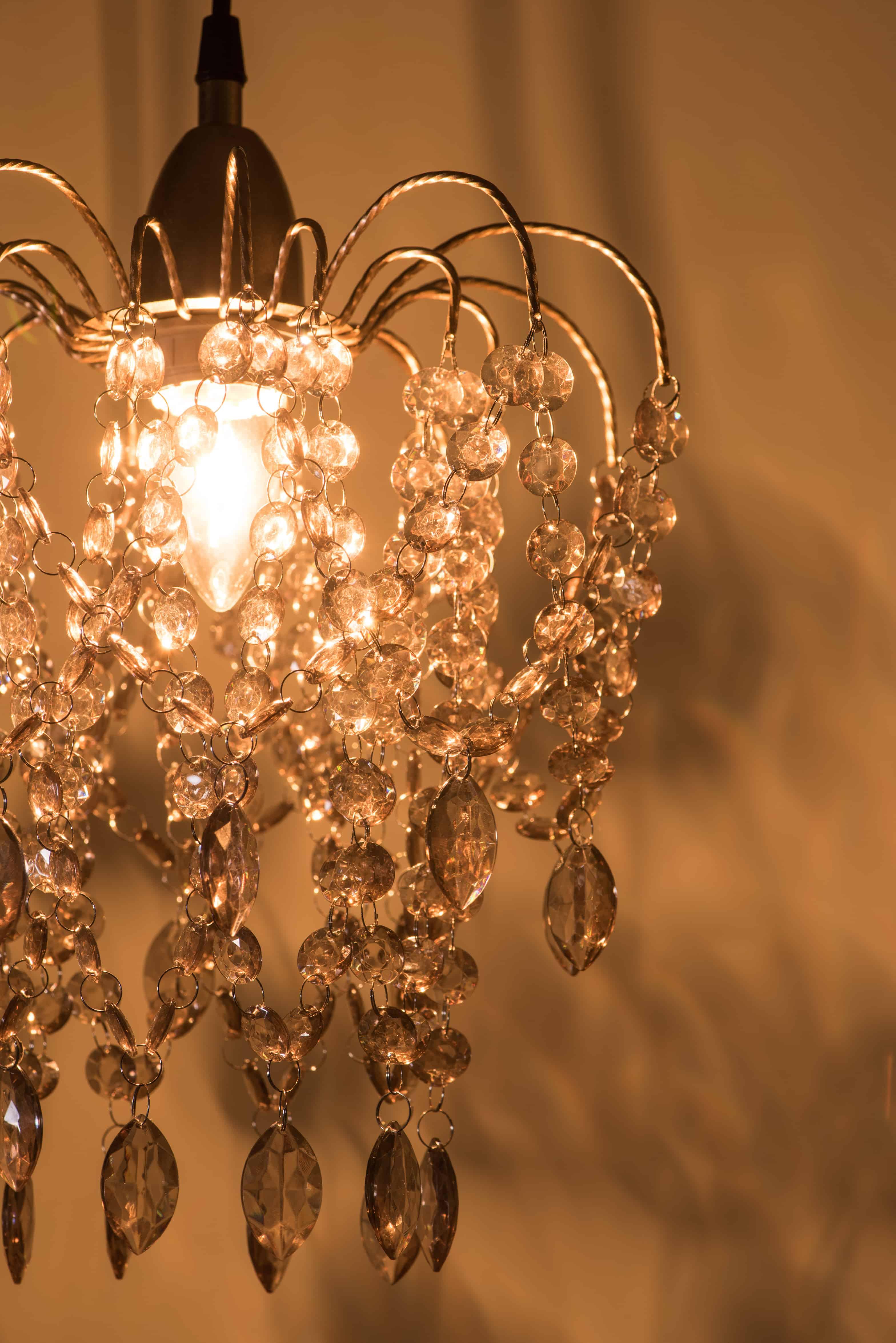 玫瑰金壓克力珠吊燈-BNL00047 7