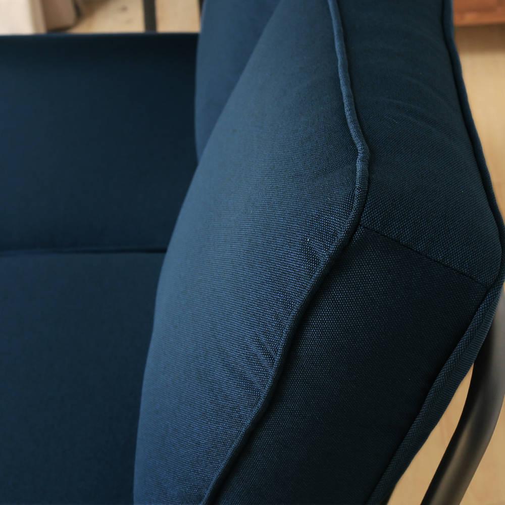 日式 推薦 Marico馬力克工業風鐵架L型沙發 / 雙人沙發+腳凳  /  H&D 4