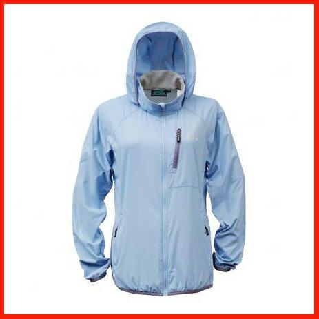 女抗UV單層風衣 煙藍 3452 - 限時優惠好康折扣