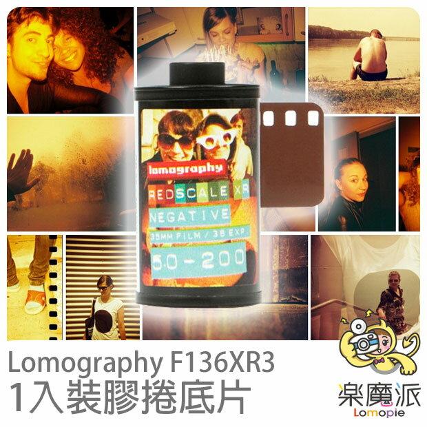 Lomography F136XR3 黃橘色調膠捲底片 Redscale XR ISO 50-200 35mm ( 一 卷裝 )