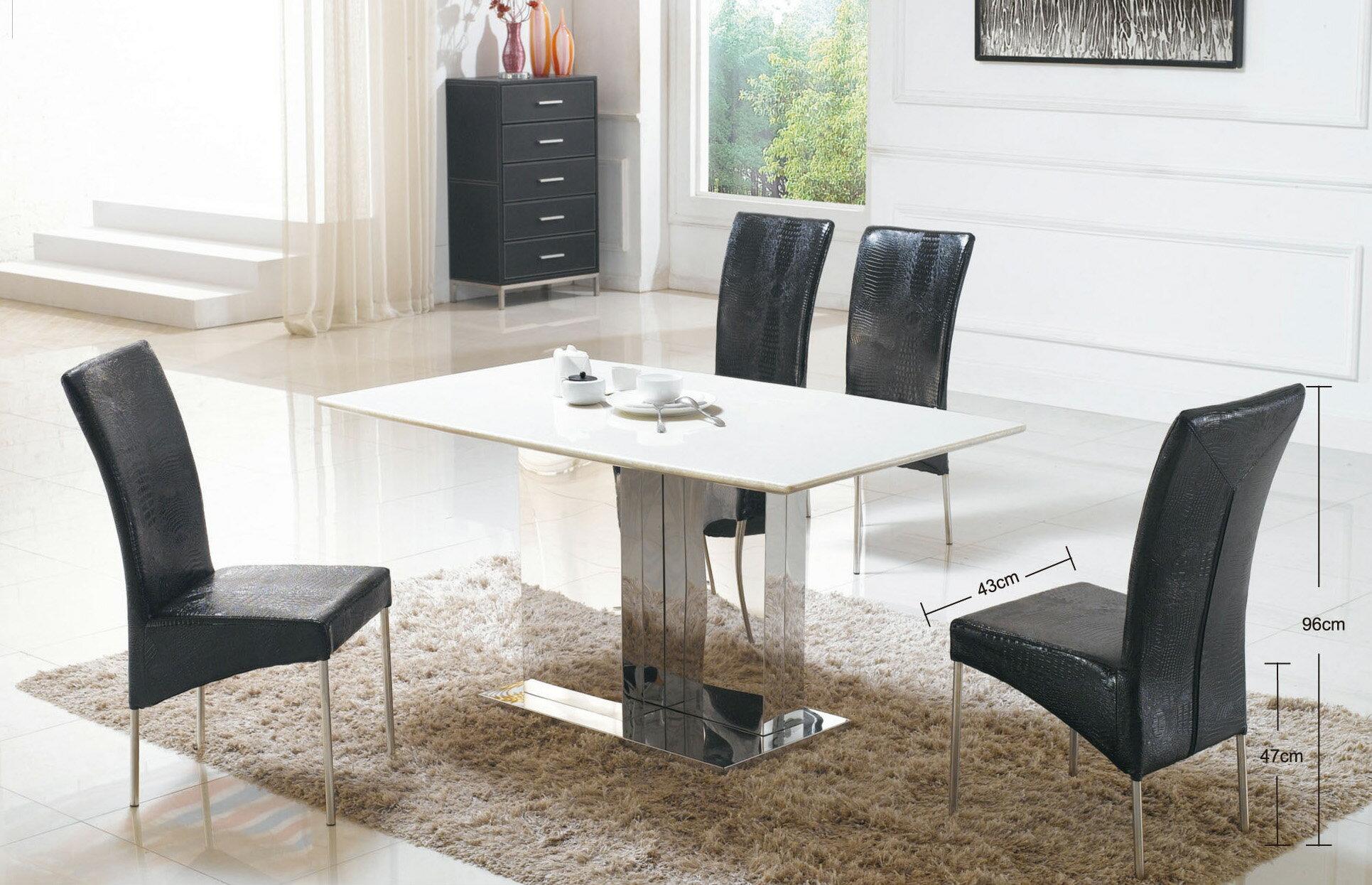 【尚品傢俱】JJ-6502 不鏽鋼餐椅